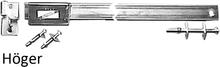 Instickslåsbom Ryli 1200 mm till dubbeldörrar - Höger