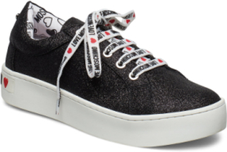 Love Moschino Shoes Low-top Sneakers Sort Love Moschino