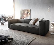 DELIFE Big-sofa Around the Block 260x105 antraciet echt leder vederkern by W. Schillig