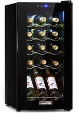 Shiraz 15 Slim Uno vinkylskåp 44l touch 135W 5-18°C svart