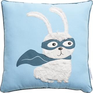 Cushion, Blue, Cotton Innredning Til Hjemmet Blå BLOOMINGVILLE