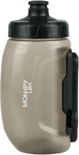 MonkeyLink Monkeybottle S Vattenflaska 400 ml utan hållare svart 2019 Vattenflaskor