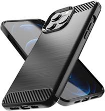 Nillkin Synthetic Fiber Carbon Skal Iphone 13 Pro Max - Svart