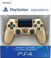 Sony Dualshock 4 Controller (NEW VERSION 2) - Gold (EU) (PS4)