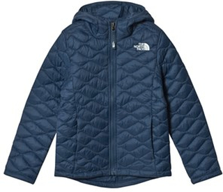 The North Face Navy ThermoBall Zip Through Hoodie S (7-8 years)