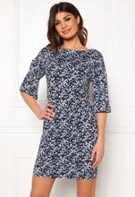 Boomerang Nora Printed Dress Blue Nights XS