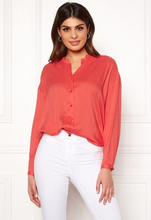 Boomerang Flora Blouse Tomato Red 40
