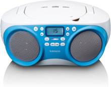 SCD-301 - Portable FM radio with CD MP3
