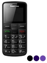 Mobiltelefon för seniorer Panasonic Corp. KX-TU110EX 1,77'' TFT Bluetooth LED (Färg: Blå)