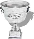 vidaXL Pokal champagnekylare aluminium silver
