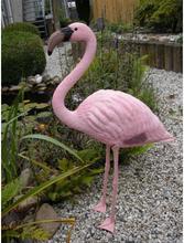 Ubbink Trädgårdsdekoration Flamingo plast