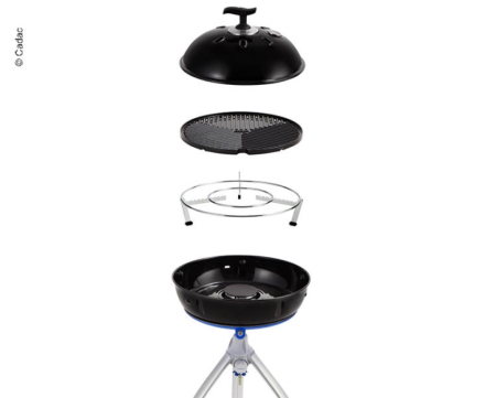 GASSGRILL GRILLOGAS CHEF BBQ DOME 30 MBAR - MED LOKK