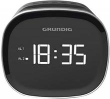 Klockradio Grundig SCN 230 LED AM/FM 1,5 W (Färg: Svart)