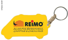 Nøkkelring bobil med Reimo-Logo, ca 5 cm