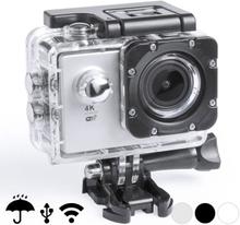 Sportkamera 4K 2'' 360º WiFi (16 pcs) 145528 (Färg: Grå)
