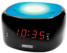 Klockradio Daewoo DCR-440BL LED FM Blå