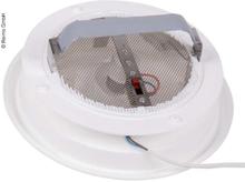 Luftuttak med 12V ventilator
