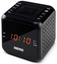 Klockradio Daewoo DCR-450 Svart
