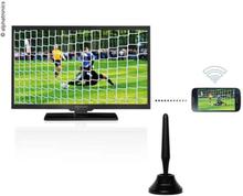 """ALPHATRONICS TV 22"""""""" LED TRIPLE TUNER DVB-S2/DVB-T2 MED DSB+"""