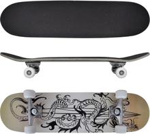"""vidaXL Skateboard Drake ovalformad lönnträ 8"""" 9 lager"""