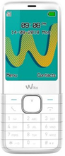 Mobiltelefon WIKO MOBILE RIFF 3 PLUS 2,4'' Bluetooth (Färg: Vit)