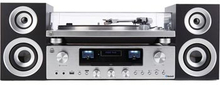 GPO Stereopaket med CD & vinylspelare PR100/200