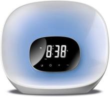 Klockradio Daewoo DCR-470 LED Vit