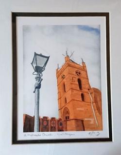 Sweet Pea Designs Søt Pea design St Michaels kirken Linlithgow ut 8...