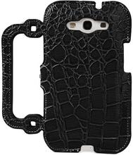 Raptor Veske (Sort) Samsung Galaxy S3 Lærdeksel