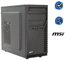 Bordsdator iggual PSIPCH421 i3-8100 8 GB RAM 240 GB SSD Svart