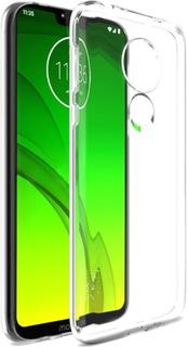 Motorola Moto G7 Power Skal - Genomskinligt Skal Transparent