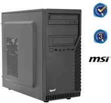 Bordsdator iggual PSIPCH425 i3-8100 8 GB RAM 240 GB SSD W10 Svart