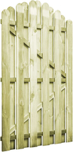 vidaXL Trädgårdsgrind impregnerad furu 100x150 cm