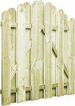 vidaXL Trädgårdsgrind impregnerad furu 100x100 cm