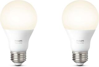 Philips Hue White A60 E27 LED-lampa 2p