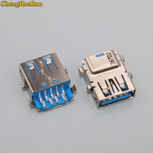 ChengHaoRan 2pcs USB 3.0 Female Port Jack Replacement Connector for Lenovo Yoga 2 13 G40-70 Y50-70 Y70-70