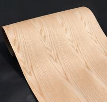 Length: 2.5Meters Thickness:0.3mm Width: 55cm Technological Red Oak Patterns Wood Veneer Kraft Paper Composite Veneer