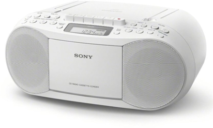 Sony Boombox CD/Kassett/Radio Vit