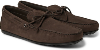 City Gommino Full-grain Leather Driving Shoes - Brown