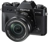Fujifilm X-T20 + 16-50/3,5-5,6 Svart, Fujifilm