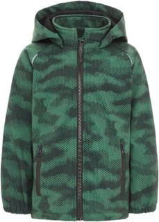 NAME IT Mini Alfa Softshell Jacket Men Green