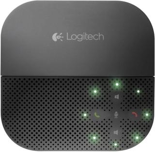 Logitech Mobile Speakerphone P710e Konferenshögtalare USB, Bluetooth Svart