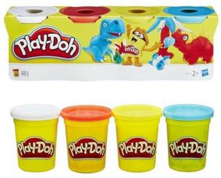 Play-Doh 4 klassiske farger av modelleringsleire - assortert