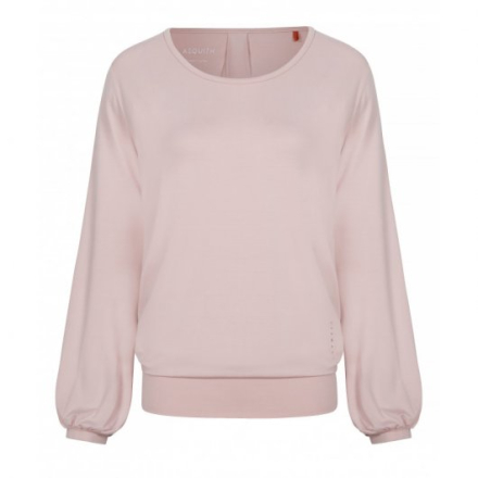 Long Sleeve Smooth your tee (Färg: Rosa, Storlek: L)