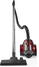 Nedis Dammsugare | påslös| 700 W | 1.5 L dammsugare | röd