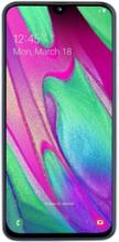 Samsung Galaxy A40 - Pekskärmsmobil - dual-SIM - 4G LTE - 64 GB - microSDXC slot - GSM - 5.9 - 2340 x 1080 pixlar (439 ppi) - Super AMOLED - RAM 4 GB