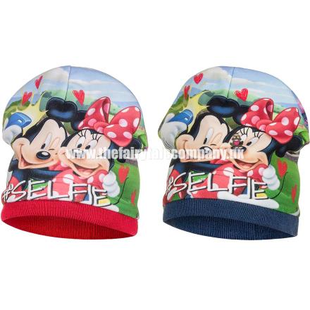 Mickey & Minnie Mouse hue, blå - TheFairytaleCompany