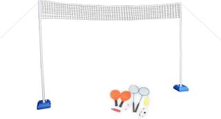 Sport/spel Set - 6 i 1 - 300 cm