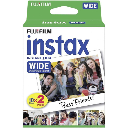 FUJIFILM-20 Pack Instax bred 210 camera Film/200/300