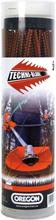 Trimmertråd Techni-Blade röd, 7,0 mm x 26 cm